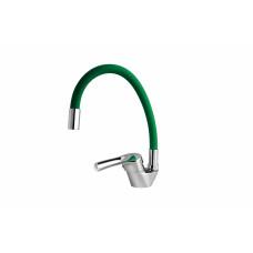 Смеситель TU 17 K зеленый, для кухни