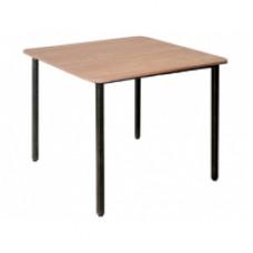 Стол на металическом каркасе, бук