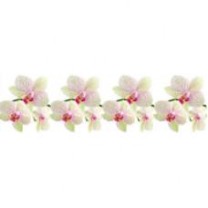 Фартук для кухни «Белая орхидея», 2000 мм