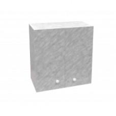 Шкаф настенный «Стандарт» с сушкой для посуды  L 800 цвет белый мрамор