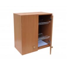 Шкаф настенный «Стандарт» с сушкой для посуды  L 800 цвет бук