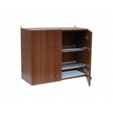 Шкаф настенный «Стандарт» с сушкой для посуды  L 800 цвет дуб