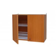 Шкаф настенный «Стандарт» с сушкой для посуды  L 800 цвет ольха
