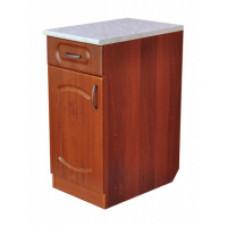 Тумба со столешницей «Классик» 400*600*850; с выдвижным ящиком, цвет орех