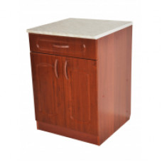 Тумба со столешницей «Классик» 600*600*850; с выдвижным ящиком, цвет орех